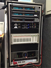 V3R-FX devices on Tele-Ponto's Rack.