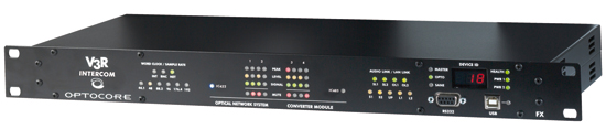 V3R FX INTERCOM550 front